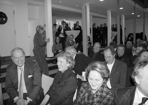 Eröffnung des Heine Hauses