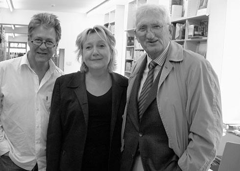 Rudolf Müller, Selinde Böhm und Jürgen Habermas