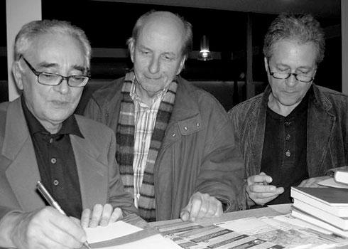 Marcel Bénabou, Thomas Laux und Rudolf Müller