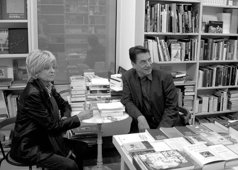 Gabriele Henkel und Claudio Magris
