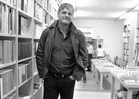 Raoul Schrott in der Literaturhandlung Müller & Böhm