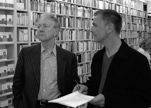 Werner Spies und Andreas Gursky