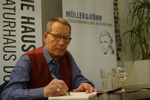 Friedrich Christian Delius; Januar 2019