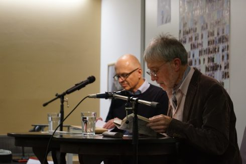 Lothar Schröder, Urs Faes; November 2017