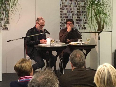 Durs Grünbein, Oswald Egger; Oktober 2017