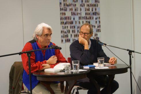 Rolf Steiner, Michael Krüger; Dezember 2019