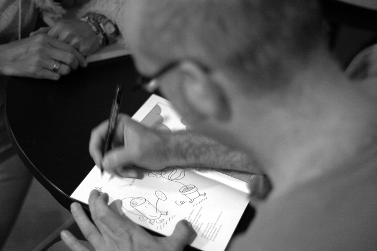 Ulf K. signiert
